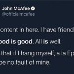 John McAfee Found Dead In Spanish Jail Cell After Tax Evasion Charge